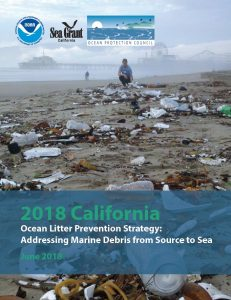 2018 California Ocean Litter Strategy Cover